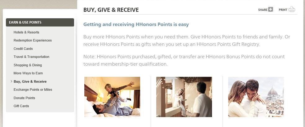 Hilton Buy Points - Erika's Travel Tips