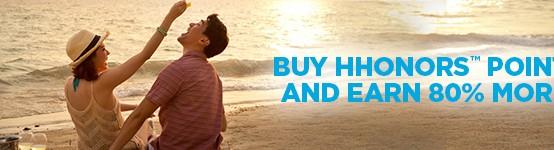 Hilton 80 Percent Bonus Points - Erika's Travel Tips