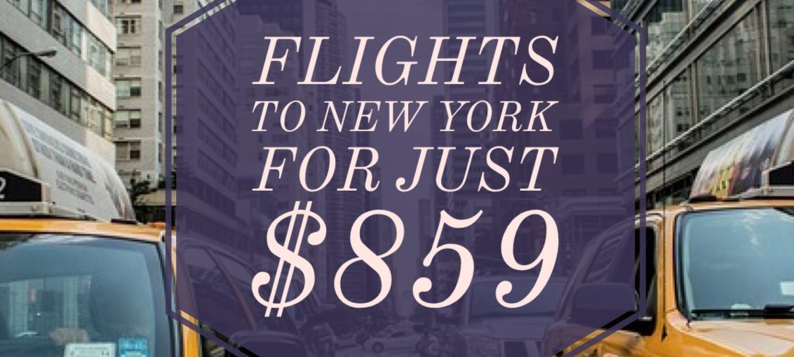Cheap Flights to New York - Erika's Travel Tips