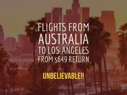 Cheap Flights Australia Los Angeles - Erika's Travel Tips